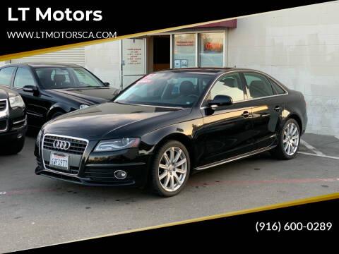 2012 Audi A4 for sale at LT Motors in Rancho Cordova CA