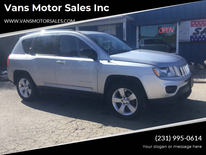 2011 Jeep Compass for sale at Vans Motor Sales Inc in Traverse City MI
