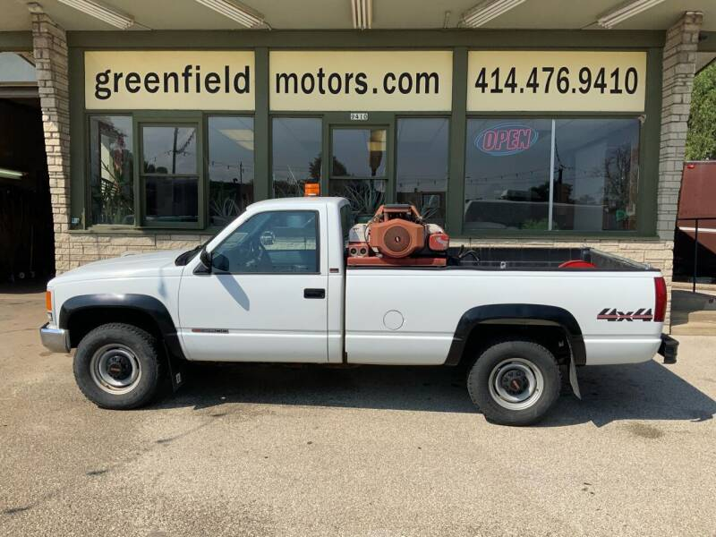 1990 GMC Sierra 2500HD Classic for sale at GREENFIELD MOTORS in Milwaukee WI