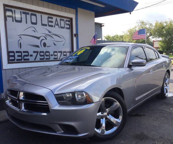 2014 Dodge Charger for sale at AUTO LEADS in Pasadena TX