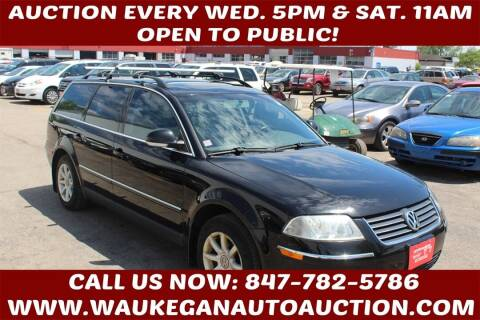 2004 Volkswagen Passat for sale at Waukegan Auto Auction in Waukegan IL