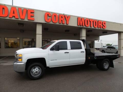 2019 Chevrolet Silverado 3500HD CC for sale at DAVE CORY MOTORS in Houston TX