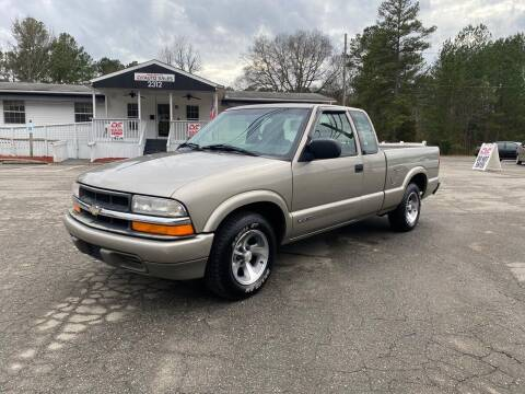 1998 Chevrolet S-10 for sale at CVC AUTO SALES in Durham NC