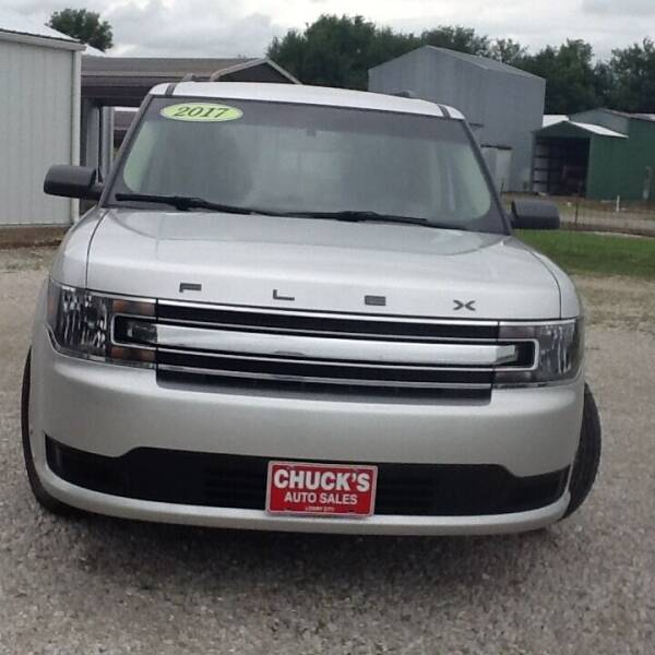 2017 Ford Flex for sale at CHUCK'S AUTO SALES in Lowry City MO