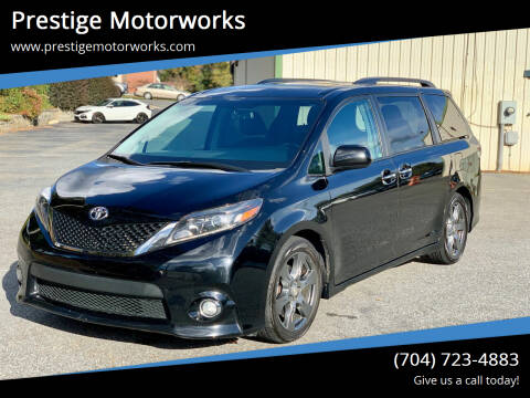 2017 Toyota Sienna for sale at Prestige Motorworks in Concord NC
