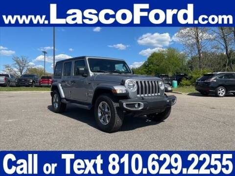 2018 Jeep Wrangler Unlimited for sale at Lasco of Grand Blanc in Grand Blanc MI