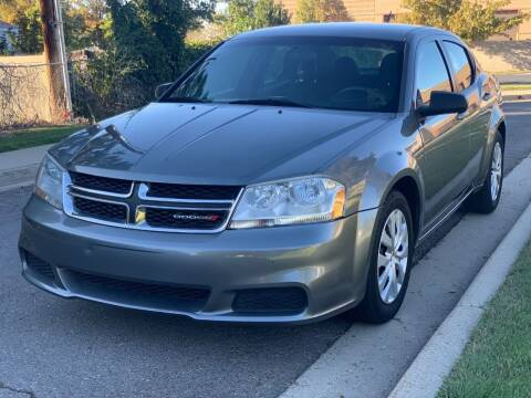 2012 Dodge Avenger for sale at A.I. Monroe Auto Sales in Bountiful UT