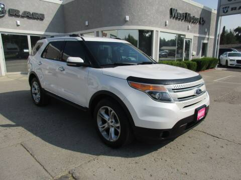2013 Ford Explorer for sale at West Motor Company in Preston ID