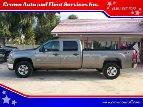 2007 GMC Sierra 2500HD for sale at Crown Auto and Fleet Services Inc. in Ocala FL