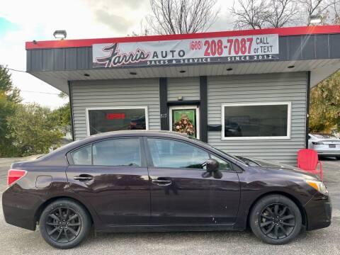 2012 Subaru Impreza for sale at Farris Auto in Cottage Grove WI