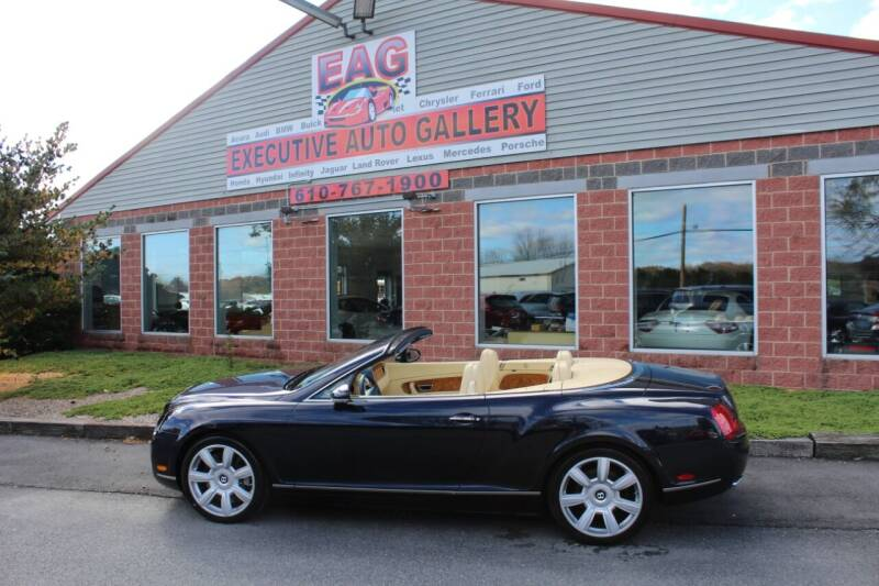 2007 Bentley Continental for sale at EXECUTIVE AUTO GALLERY INC in Walnutport PA