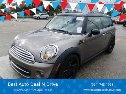 2013 MINI Clubman for sale at Best Auto Deal N Drive in Hollywood FL