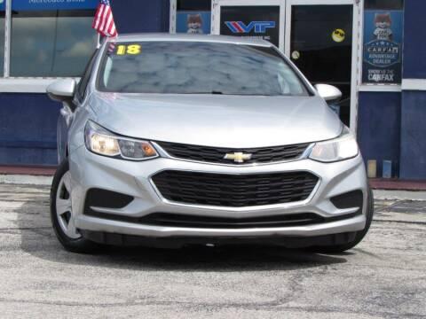 2018 Chevrolet Cruze for sale at VIP AUTO ENTERPRISE INC. in Orlando FL