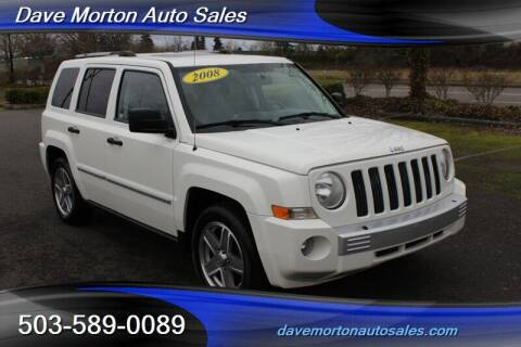 2008 Jeep Patriot for sale at Dave Morton Auto Sales in Salem OR