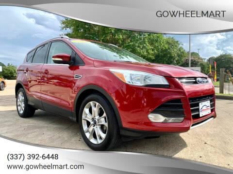 2014 Ford Escape for sale at GOWHEELMART in Leesville LA