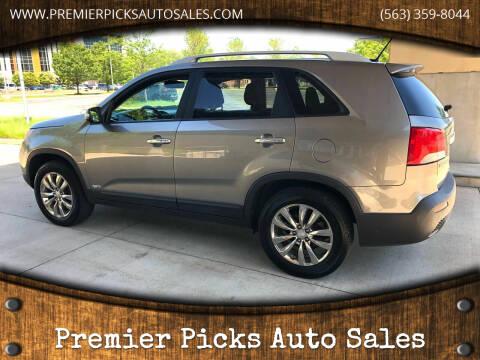 2011 Kia Sorento for sale at Premier Picks Auto Sales in Bettendorf IA