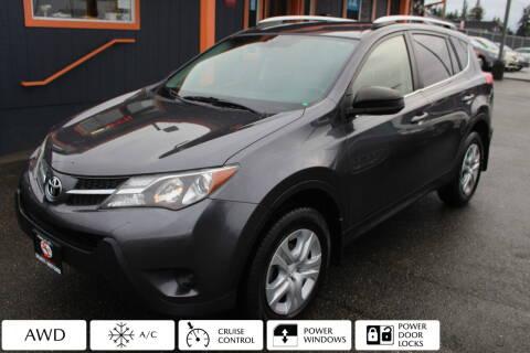 2014 Toyota RAV4 for sale at Sabeti Motors in Tacoma WA