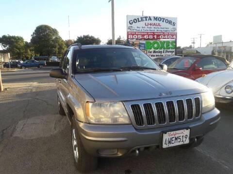 2002 Jeep Grand Cherokee for sale at Goleta Motors in Goleta CA