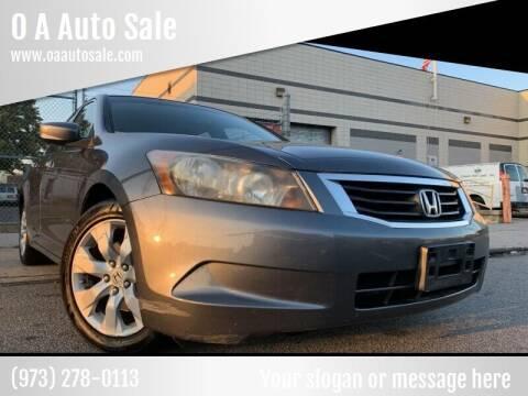 2009 Honda Accord for sale at O A Auto Sale - O & A Auto Sale in Paterson NJ