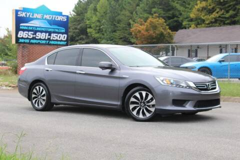 2014 Honda Accord Hybrid for sale at Skyline Motors in Louisville TN