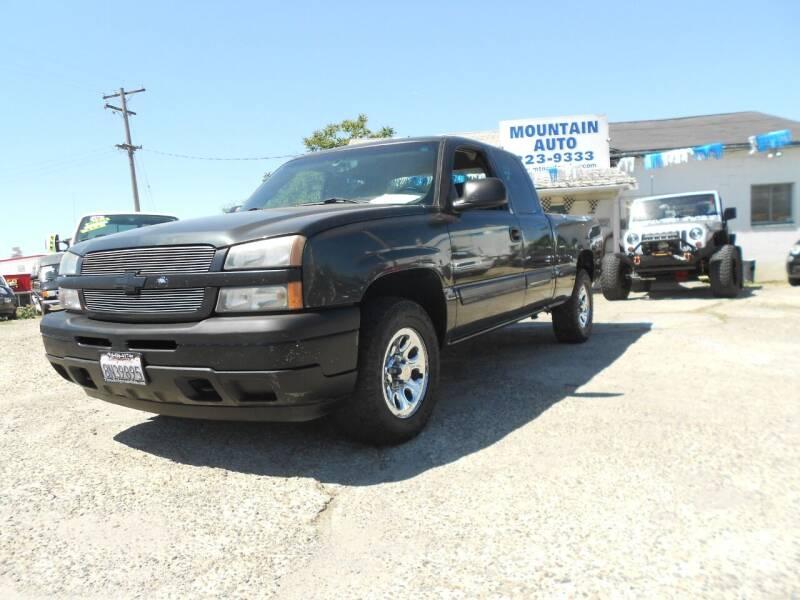 2005 Chevrolet Silverado 1500 for sale at Mountain Auto in Jackson CA