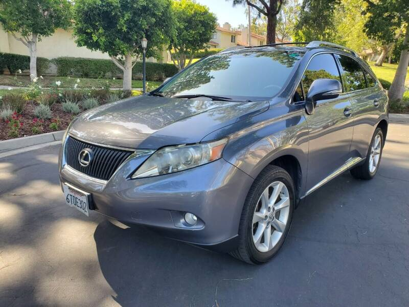 2012 Lexus RX 350 for sale at E MOTORCARS in Fullerton CA
