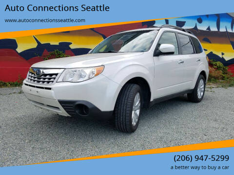 2012 Subaru Forester for sale at Auto Connections Seattle in Seattle WA