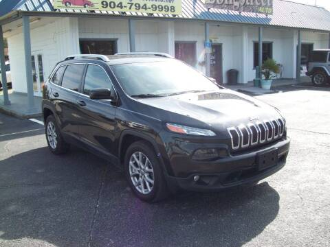 2015 Jeep Cherokee for sale at LONGSTREET AUTO in St Augustine FL
