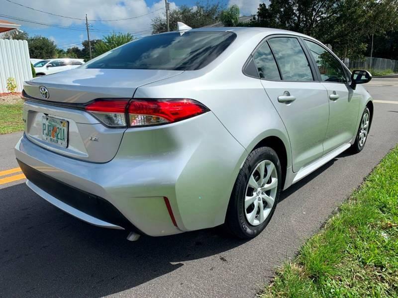 2020 Toyota Corolla LE 4dr Sedan - Davie FL