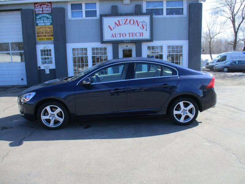 2013 Volvo S60 for sale at LAUZON'S AUTO TECH TOWING in Malone NY