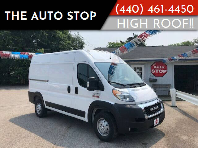 2019 RAM ProMaster Cargo for sale at The Auto Stop in Painesville OH