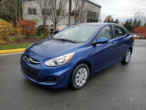 2016 Hyundai Accent for sale at Dreams Auto Group LLC in Sterling VA