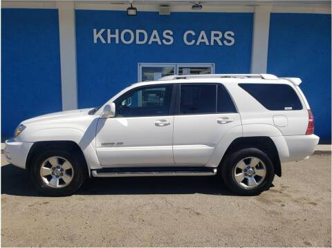 2004 Toyota 4Runner for sale at Khodas Cars in Gilroy CA