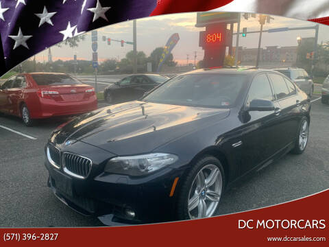 2014 BMW 5 Series for sale at DC Motorcars in Springfield VA