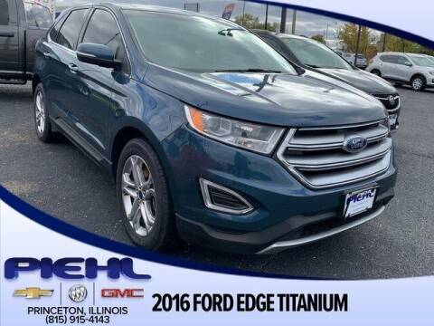 2016 Ford Edge for sale at Piehl Motors - PIEHL Chevrolet Buick Cadillac in Princeton IL