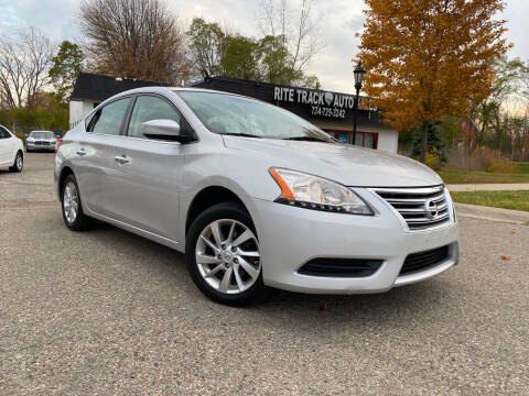 2015 Nissan Sentra for sale at Rite Track Auto Sales in Canton MI