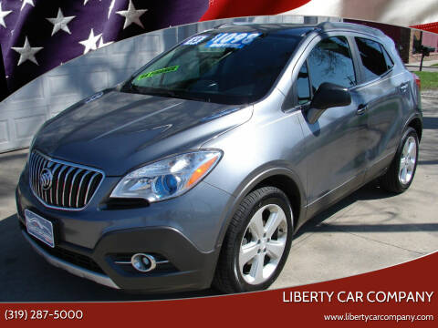 2013 Buick Encore for sale at Liberty Car Company - II in Waterloo IA