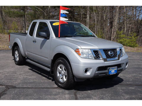 2012 Nissan Frontier for sale at VILLAGE MOTORS in South Berwick ME