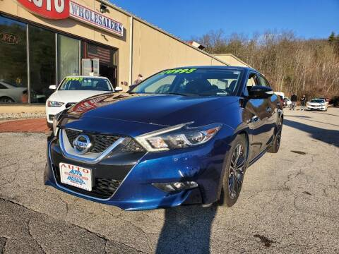 2017 Nissan Maxima for sale at Auto Wholesalers Of Hooksett in Hooksett NH