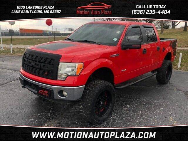 2012 Ford F-150 for sale at Motion Auto Plaza in Lakeside MO