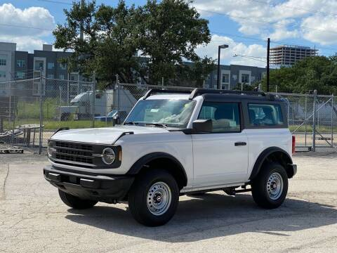 2021 Ford Bronco for sale at EA Motorgroup in Austin TX