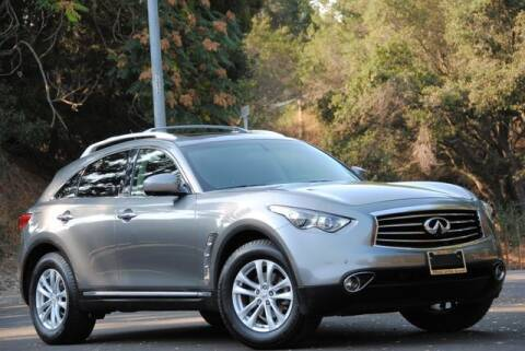 2012 Infiniti FX35 for sale at VSTAR in Walnut Creek CA
