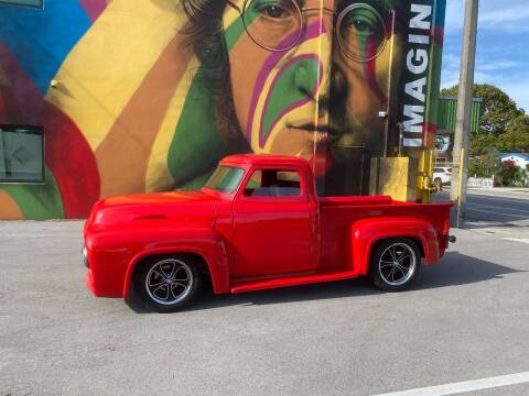 1954 Ford F-100 for sale at BIG BOY DIESELS in Ft Lauderdale FL