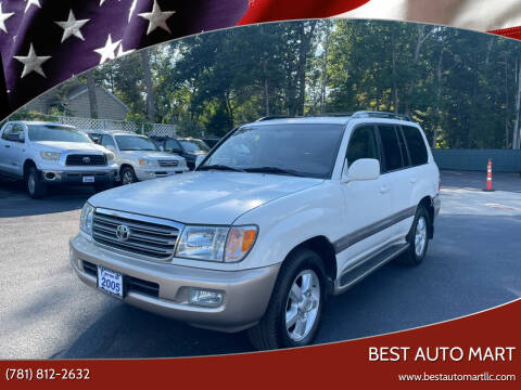 2005 Toyota Land Cruiser for sale at Best Auto Mart in Weymouth MA