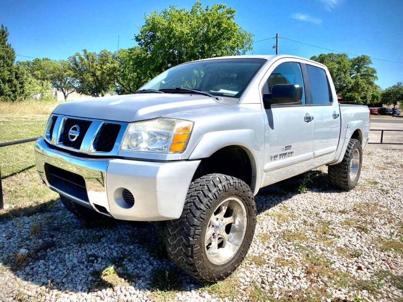 2006 Nissan Titan for sale at EA Motorgroup in Austin TX