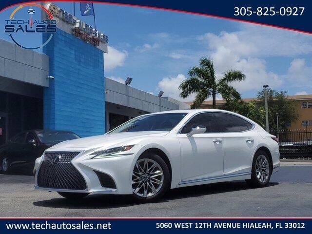 2019 Lexus LS 500 for sale at Tech Auto Sales in Hialeah FL