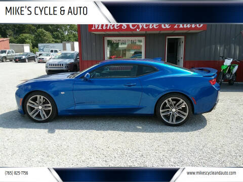2016 Chevrolet Camaro for sale at MIKE'S CYCLE & AUTO in Connersville IN