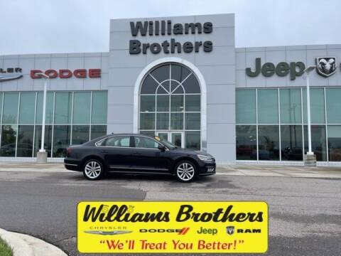 2017 Volkswagen Passat for sale at Williams Brothers - Pre-Owned Monroe in Monroe MI