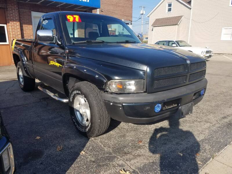 1997 Dodge Ram Pickup 1500 for sale at BELLEFONTAINE MOTOR SALES in Bellefontaine OH