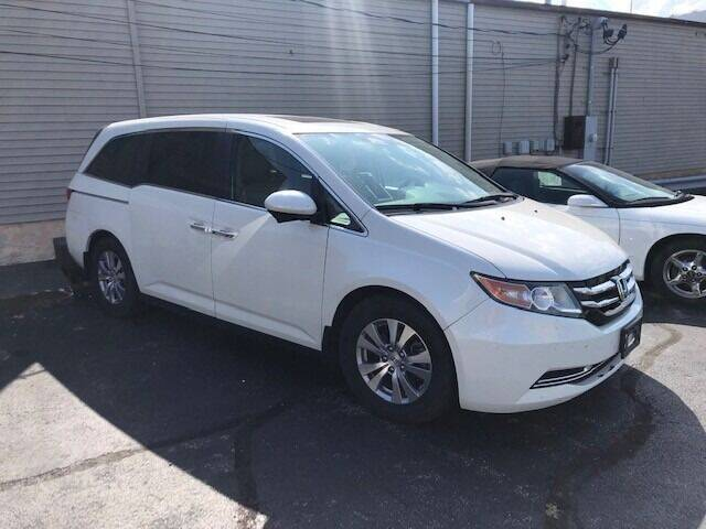 2015 Honda Odyssey for sale at RT Auto Center in Quincy IL